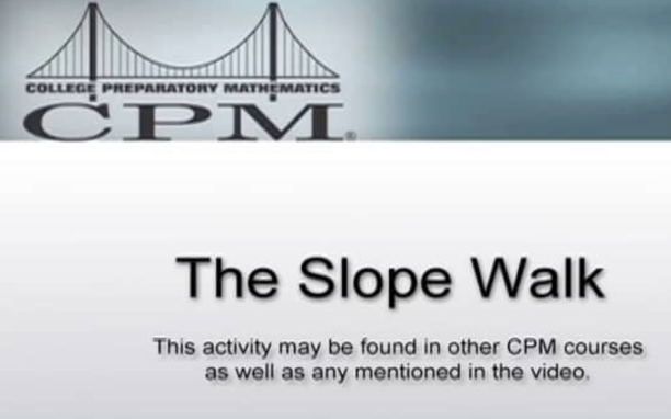 Slope Walk Video:
