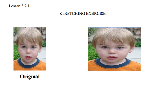 Horizontal Stretch: