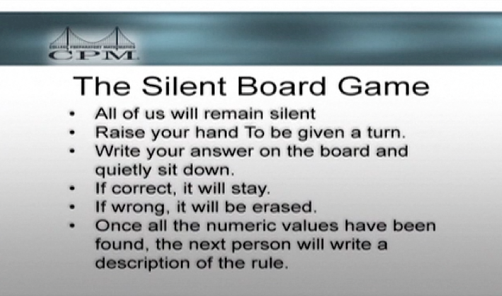 Silent Board Game Rules: