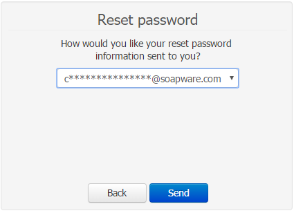 - Reset Password Email