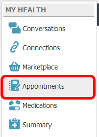 1.  Access Appointments