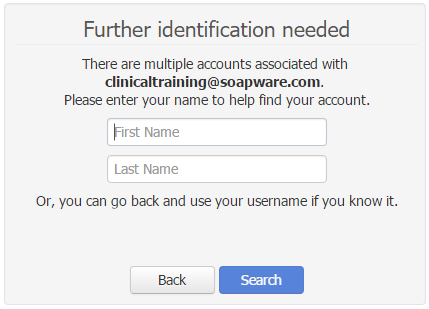 - Identify your Account