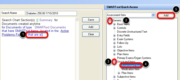 Defining the SMARText Item Type