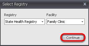 -Select a Registry