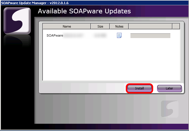 Step 1: Update SOAPware to the Latest Version