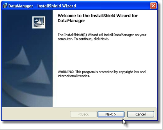 Installing the SOAPware DataManager