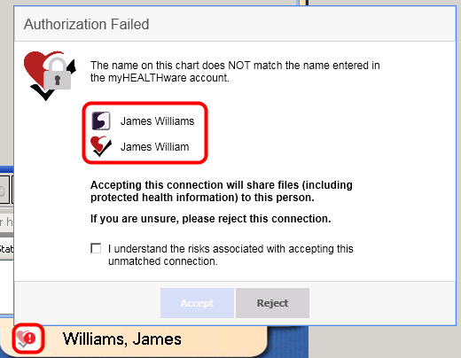 Authorization Failed