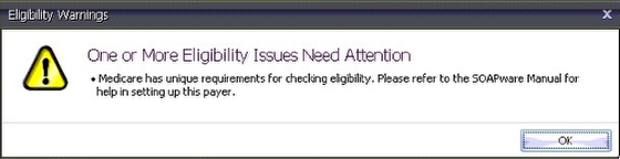 Eligibility Warnings