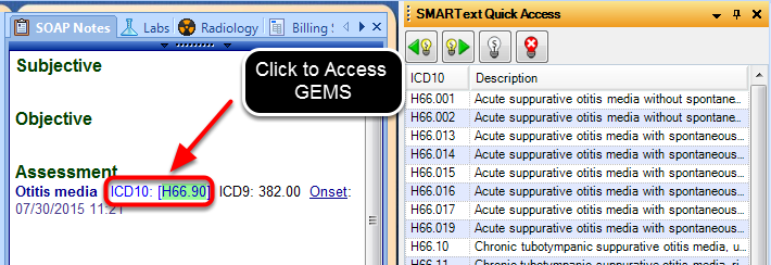 Access the 2015 General Equivalence Mappings (GEMS) on Dual-Coded and ICD-10 Diagnoses