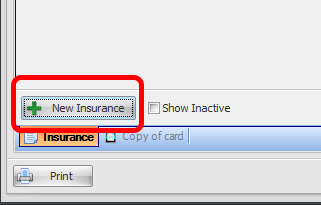 Adding a New Insurance Policy