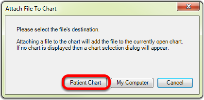 Attach File to Chart