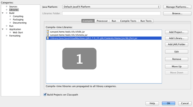 Create a Netbeans project