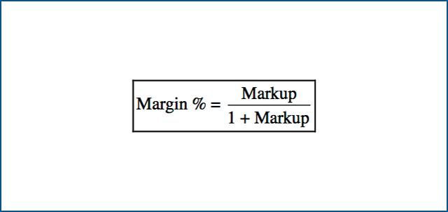 Margin vs. Markup