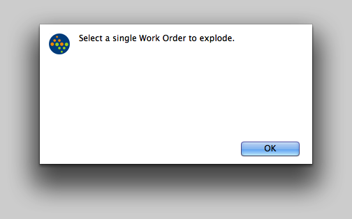 Error messages you may see...