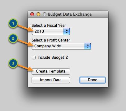 Create a Budget Template