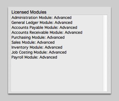Licensed Modules