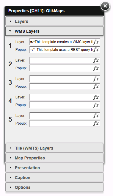 WMS Layers