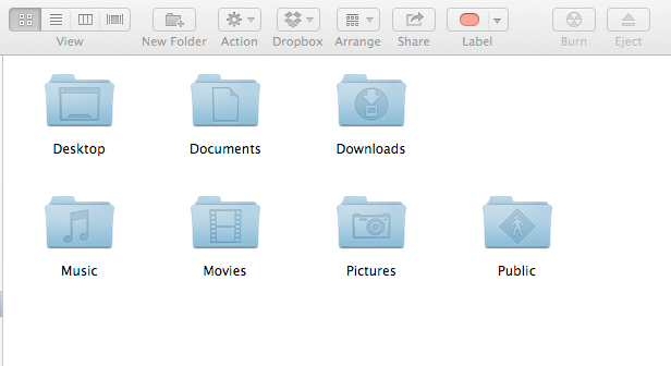 "Mac User Home or ""Document Library"""