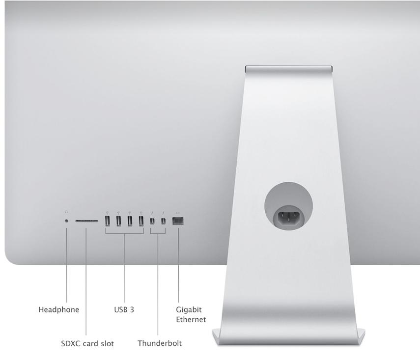iMac (Rear View)