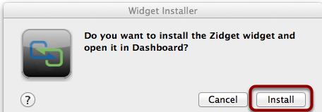 Widget Installer