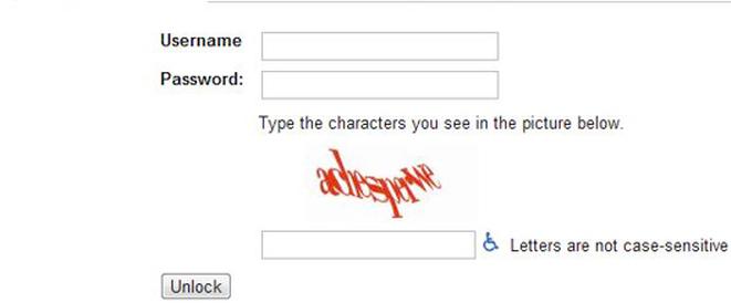 CAPTCHA Prompt