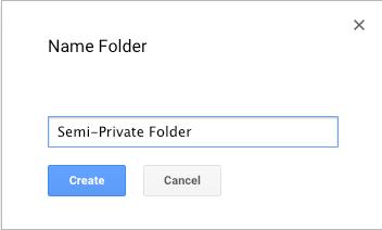 3. Name the New Folder