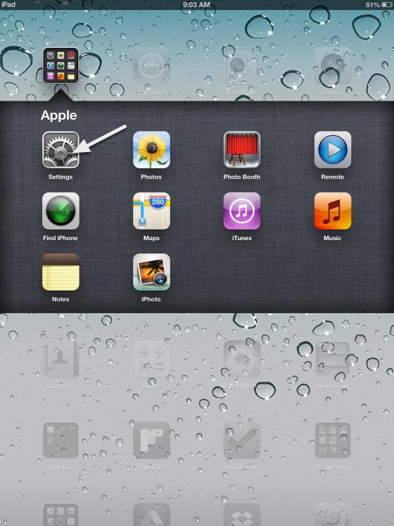 Setup the Bayside VPN on your iPad