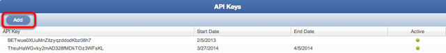 Why would I want to add API Keys?