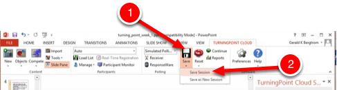 Step 2: Save Session Data