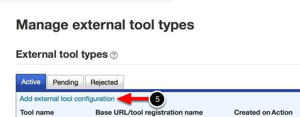 Step 2: Add a New External Tool