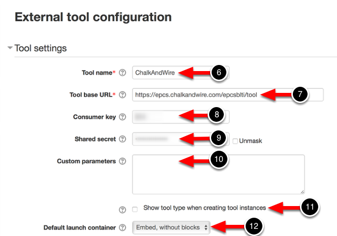 Step 3: Configure the External Tool