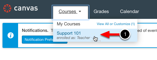 Step 1: Access the Course