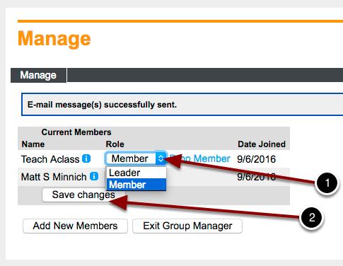 Training Group - Members Page | myCIA