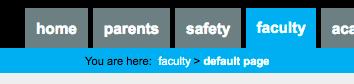 Faculty - Default Page   myCIA