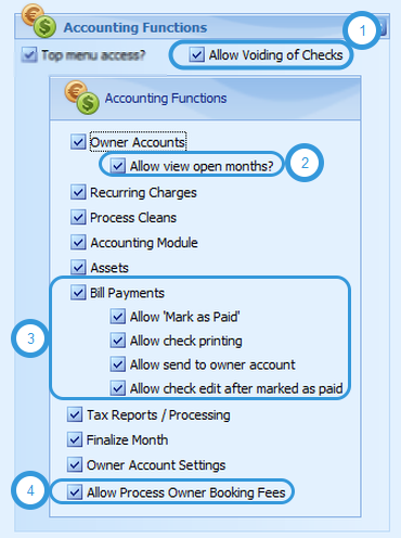 Accounting Functions