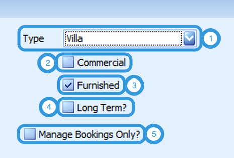Property Category Settings