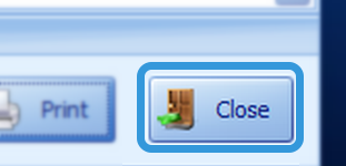 Close the Uploaded Photos Window