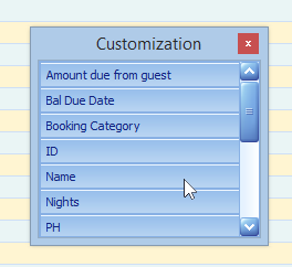 "3.) Double click on ""Name"" from the list of column categories."