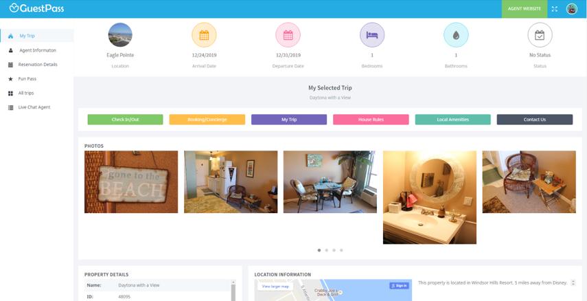 Online Guest Portal