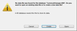 Creating Data Files