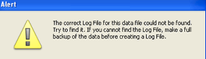 Create a new LogFile
