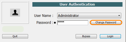 Login or Sign-in as Administrator