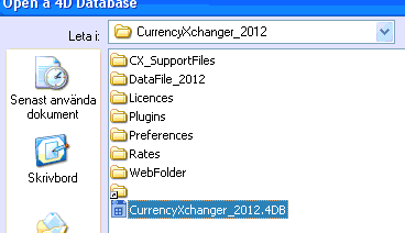 Opening the new structure file