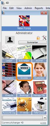 Open Invoice Module