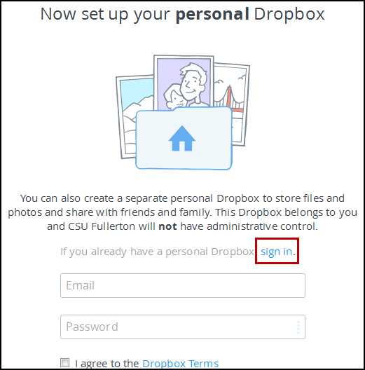Personal Dropbox options