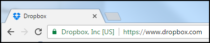 Dropbox.com website