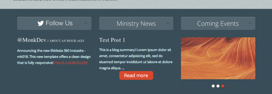 Featured Footer