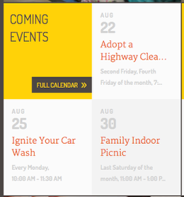Home - Upcoming Events