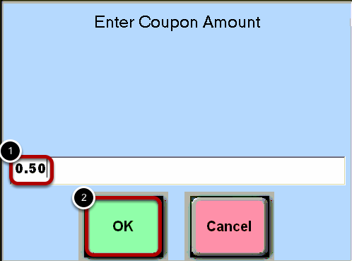 Coupon Amount