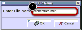 Enter File Name